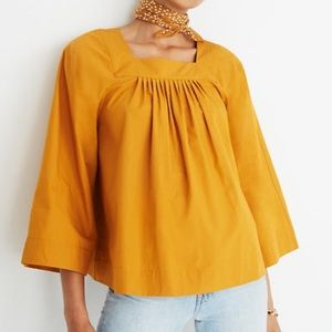 Madewell Square- Neck Top